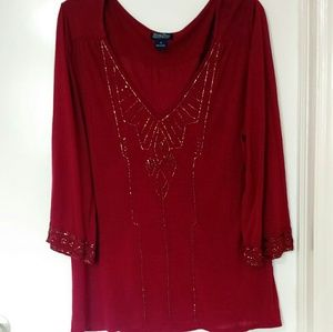 Lucky Brand live in love blouse S:XL-TG